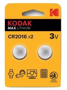 Kodak CR2016 Jednorazowa bateria Lit