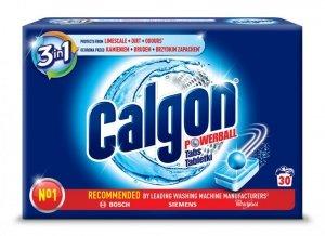 CALGON Tabletki Odkamieniacz do pralki 30szt