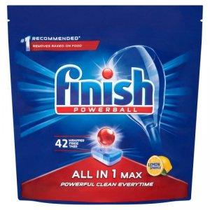 FINISH Tabletki All-in-1 Max 42 cytrynowe
