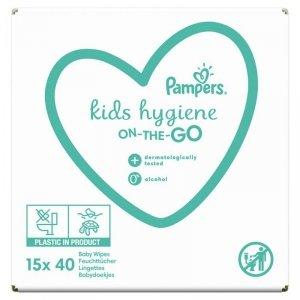 PAMPERS Chusteczki Kids Hygiene On-the-Go 15x40szt