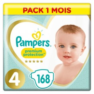 Pampers Zestaw pieluch Premium Care Monthly Box S4 4 (9-14 kg); 168