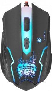 Defender Skull GM-180L myszka Oburęczny USB Typu-A Optyczny 3200 DPI