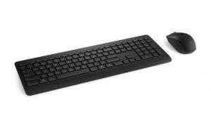Zestaw klawiatura + mysz membranowa Microsoft Wireless Desktop 900 PT3-00021 (USB 2.0; kolor czarny)
