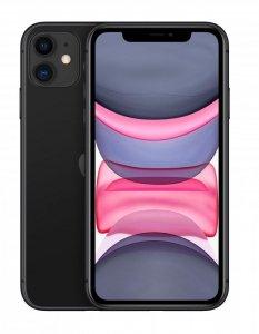 Apple iPhone 11 15,5 cm (6.1) Dual SIM iOS 14 4G 64 GB Czarny