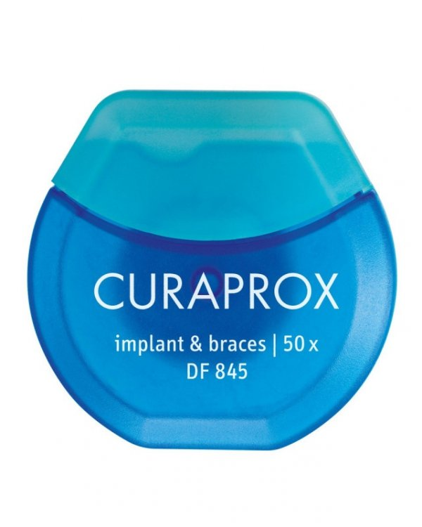 CURAPROX DF 845 implant & braces floss nić ortodontyczna i do implantów