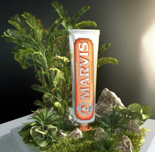 Marvis Ginger Mint - Pasta do zębów o smaku imbiru i mięty 75ml