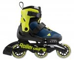 Rolki Rollerblade Microblade 3W (blue royal / lime) 2021