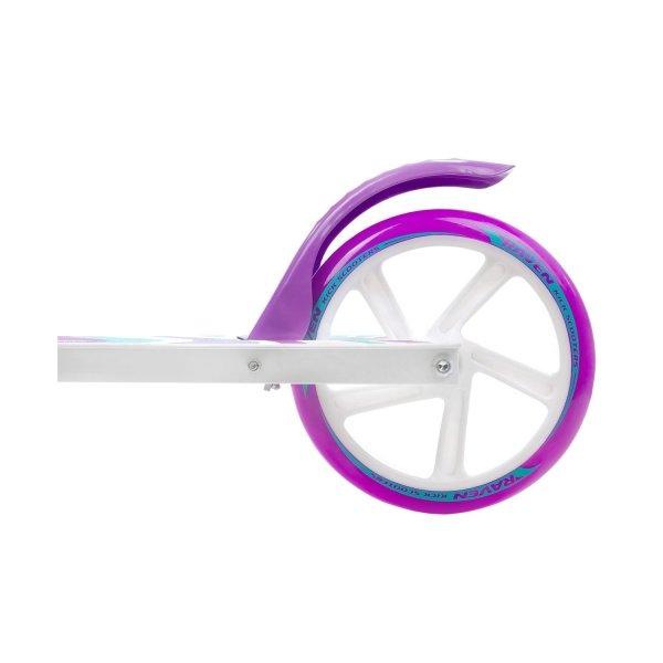 Hulajnoga Raven Zea (white/violet) 200mm z hamulcem