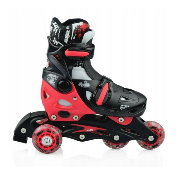 Rolki Raven Singer 3w1 (black/red)