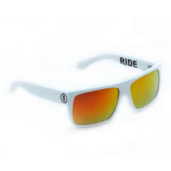 Okulary  Neon Ride (white/red)