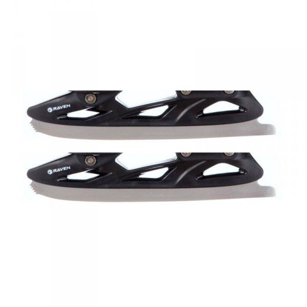 Płozy łyżwowe figurowe (czarne) typ 2