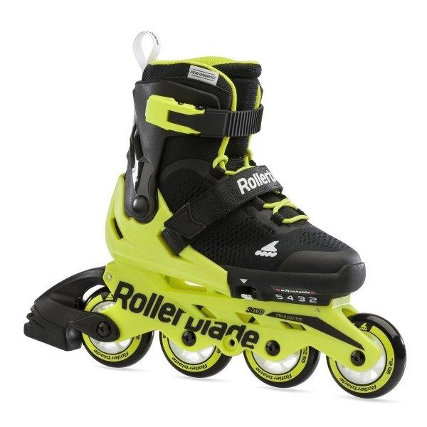 Rolki Rollerblade Microblade (black / neon yellow) 2021