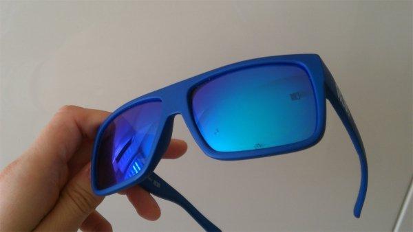 Okulary  Neon Ride (yellow fluo/blue)