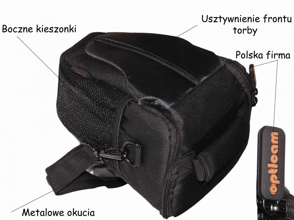 160977b0c7d19 Torba Aparat Futerał Pokrowiec Lustrzanka canon nikon opticam