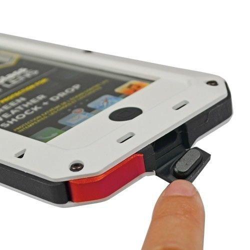 Obudowa biała pancerna GORILLA GLASS iphone 6 6s