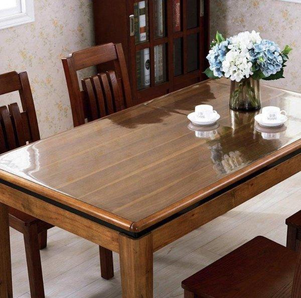Elastyczna podkładka mata obrus cerata na stół biurko komodę meble jadalnia kuchnia twój wymiar