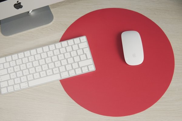 Podkładka pod mysz na biurko stół okrągła kolor Gdańsk