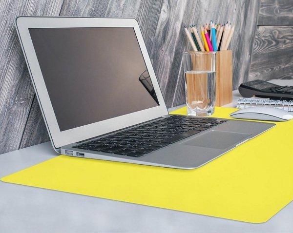 Podkładka na biurko stolik kolor 65x50 czarna Gdańsk