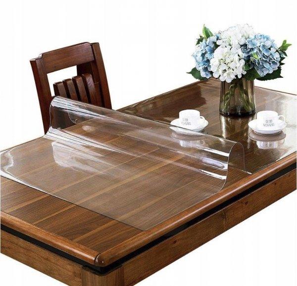 Elastyczna podkładka mata obrus cerata na stół biurko komodę meble jadalnia kuchnia twój wymiar do 150x80