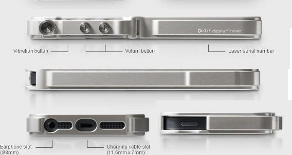 Obudowa aluminiowa BUMPER ramka iphone 6+ 6S+