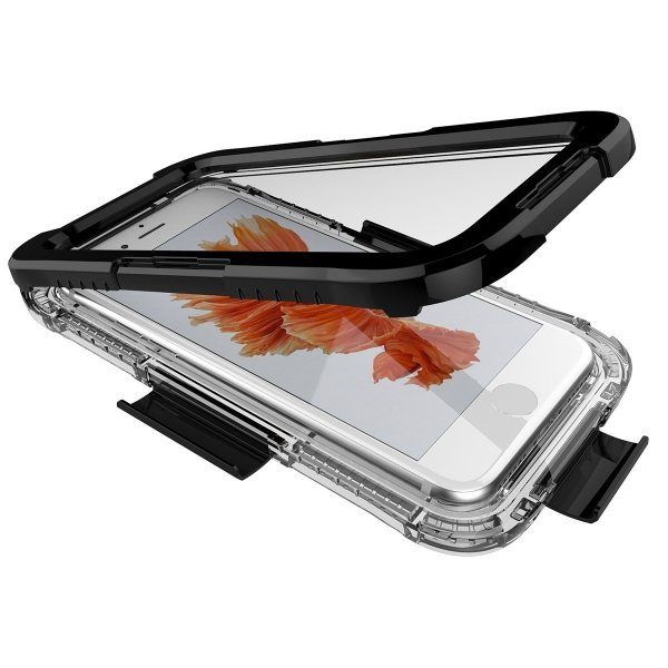 Obudowa czarny etui wodoodporna IP68 apple iPhone 7