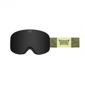 Gogle Tripout Racer Mount Green (black polarized) 2020