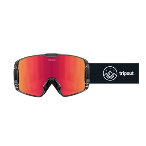 Gogle Tripout TRX Black (orange fire) 2021