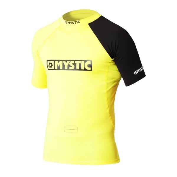 lycra mystic rashvest event yellow
