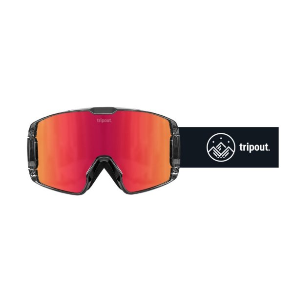 Gogle Tripout TRX Black (orange fire) 2020
