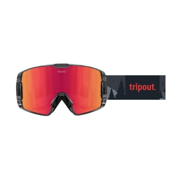 Gogle Tripout TRX Grizzly (orange fire) 2020