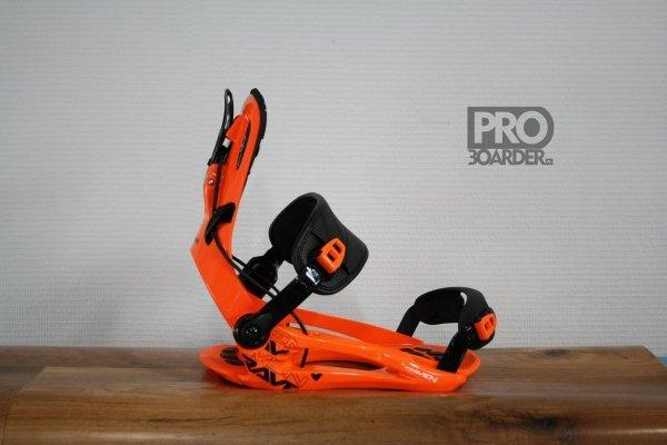 Wiązania snowboardowe Raven FT270 (orange) 2021