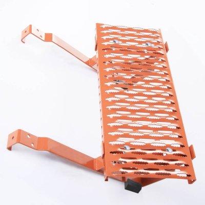 Dachtritt 40 cm Komplett für Dachziegel / Dachpfanne zum Einhängen [Ziegelrot]