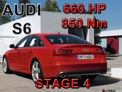 Audi S6 STAGE 4 - 660 HP / 850 Nm PAKIET MOC