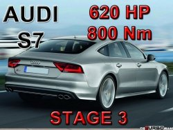 Audi S7 STAGE 3 - 620 HP / 800 Nm PAKIET MOCY