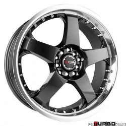 Drag Wheels DR11 Gun Metal 18x7,5 5x100/114,3 ET45