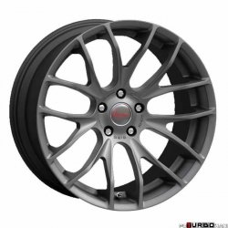 Breyton RACE GTS 7,5x18 5x120 Matt Gun Metal / Matt Black