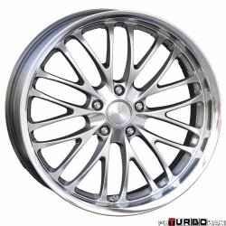 Breyton RACE CS 8,5x19 5x120 Hyper Silver with stainless steel lip