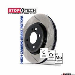 StopTech 126 Hi-Carbon Slotted tarcza hamulcowa BMW 126.34074SR
