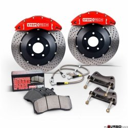 Stoptech Performance Big Brake Kit BBK 2PC ROTOR, FRONT AUD A4'96-01 332X32/ST40