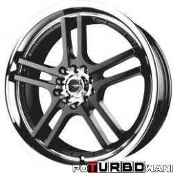 Drag Wheels DR12 7x17 5x100-114,3 ET40 otw. 73