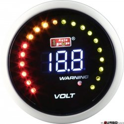 Auto Gauge LCD - woltomierz