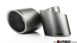 AKRAPOVIC Tail pipe set (Titanium) Nissan 370Z 2009-2013