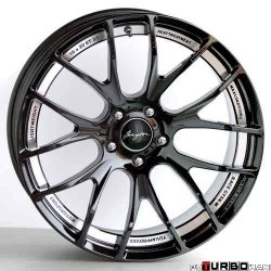 Breyton RACE GTSR-M 8,5x20 5x120 Hyper Silver/ Light Grey/ Matt Black/ Glossy Black with polished undercut