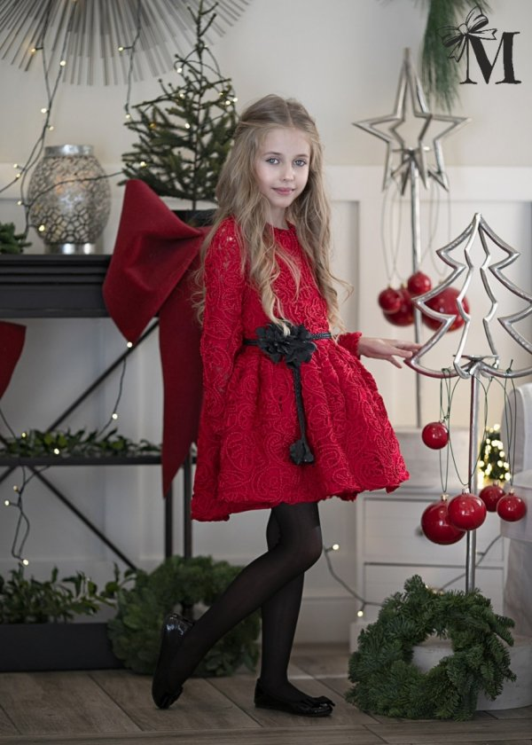 Sukienka 1716 - Czerwona