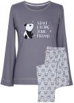 MuZZy Piżama bawełniana 100%  Żyj marzeniami