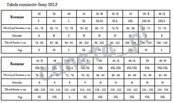 Kostium kąpielowy SELF S940X1 v13 LUXURY R: