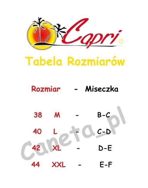 Wyszczuplający Kostium CAPRI K10 Czarny R: