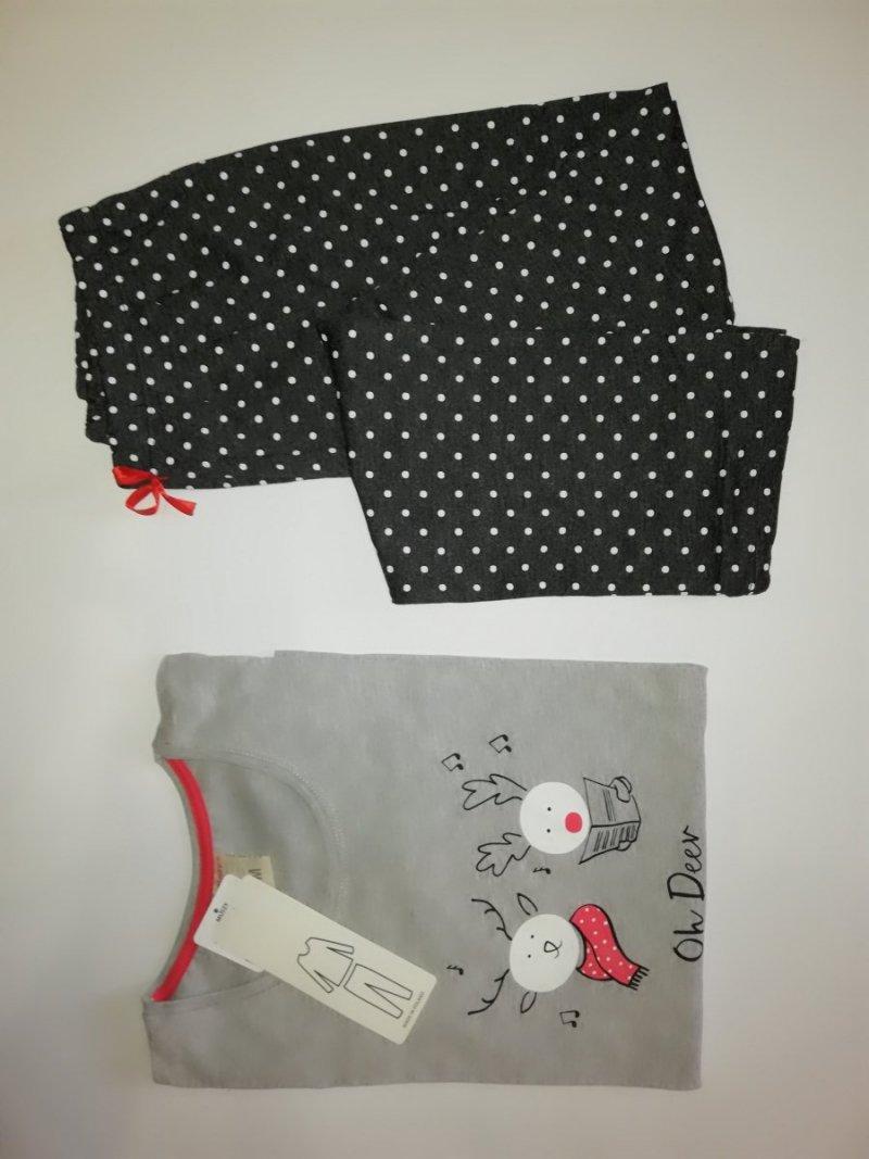 MuZZy piżama damska Deer długie spodnie i rękaw