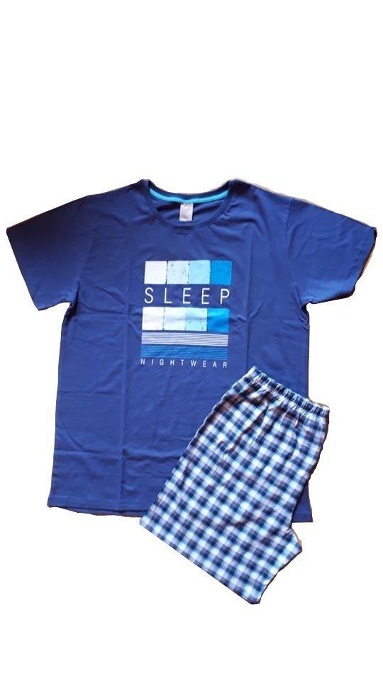 Muzzy Piżama męska 100% bawełny - Sleep R: