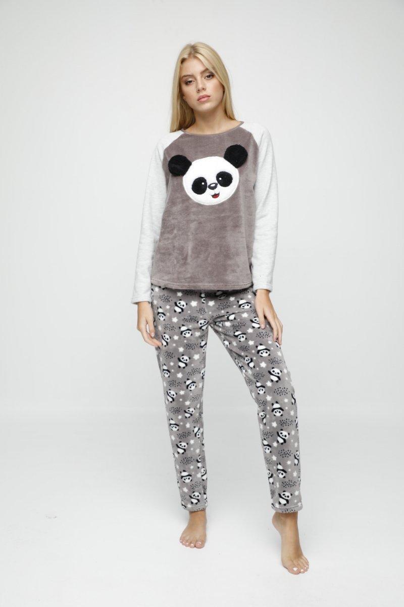 ANGEL'S SECRET Piżama z grubego polaru PANDA R:
